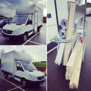 Starting van build No2 – Mercedes Sprinter Luton Van