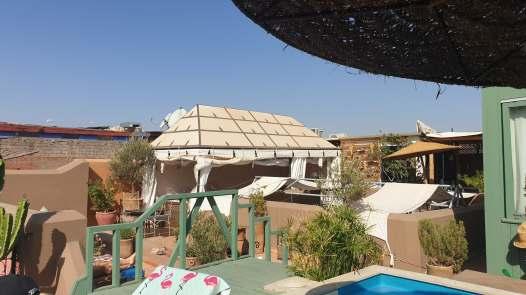 Marrakesh Riad rooftop