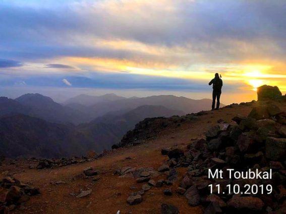 Mt Toubkal Summit Photo